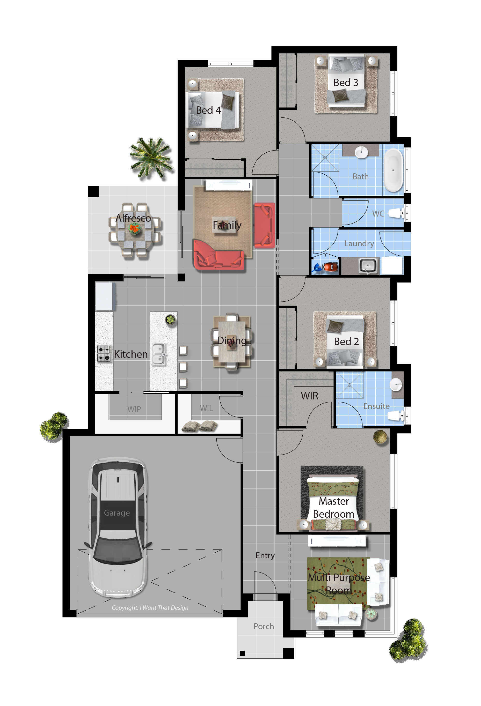 Brampton Floor Plan