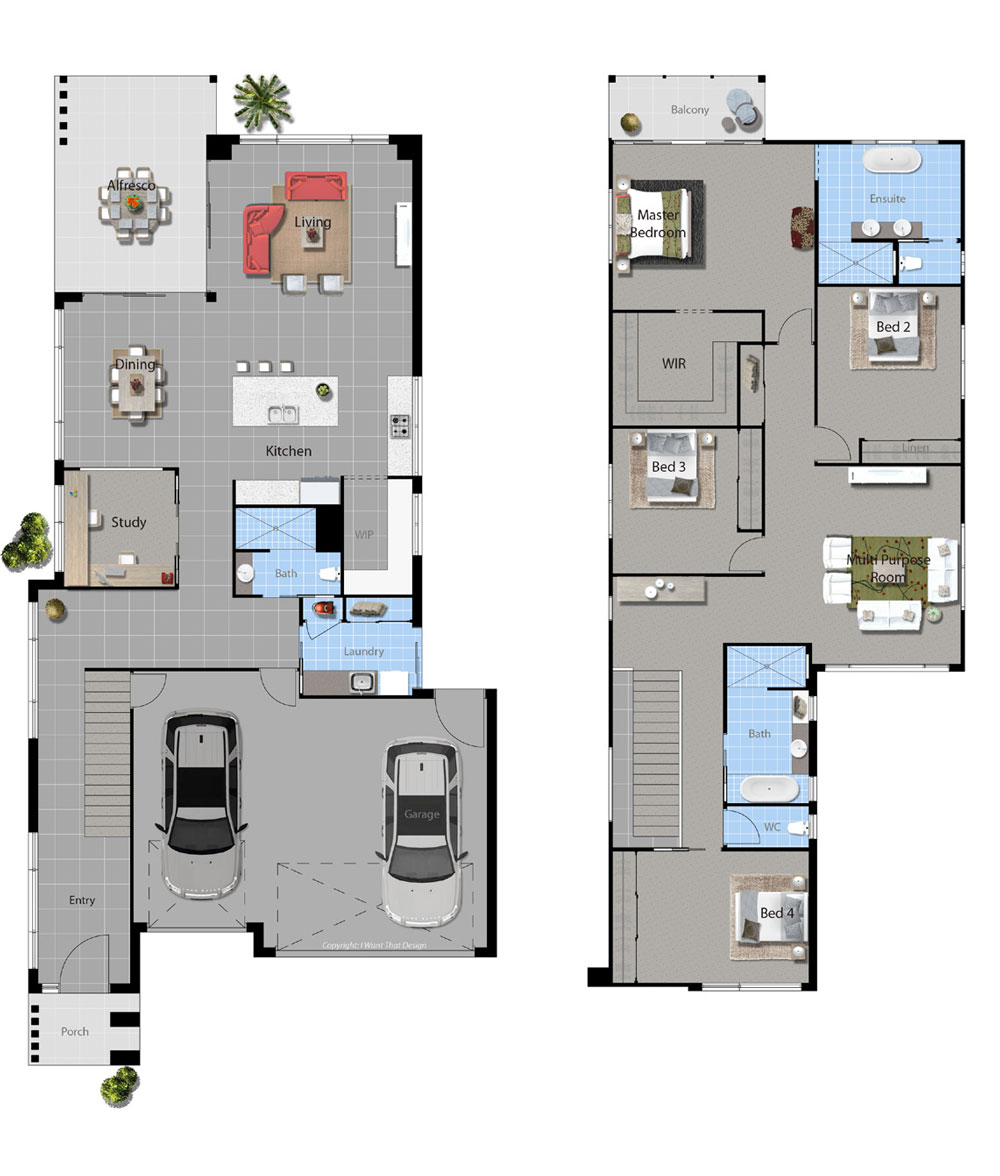Oaks Floor Plan