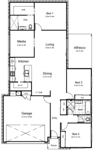 Conway 3 bed